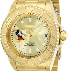 Invicta  Disney Limited Edition horloge, gold