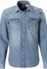 Levi's® Casual Spijkeroverhemd,lichtblauw