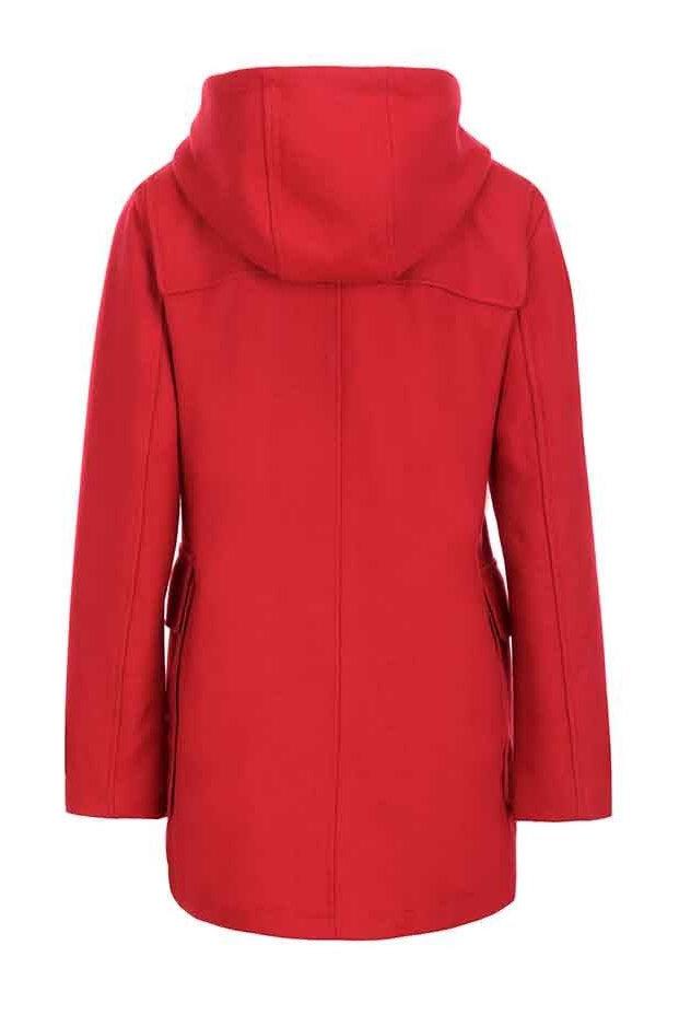 Tommy Hilfiger Winterjas met wol, rood