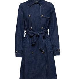 Lauren Ralph Lauren Trenchcoat, blauw