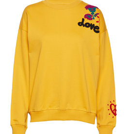 Desigual Dames Sweatshirt, geel
