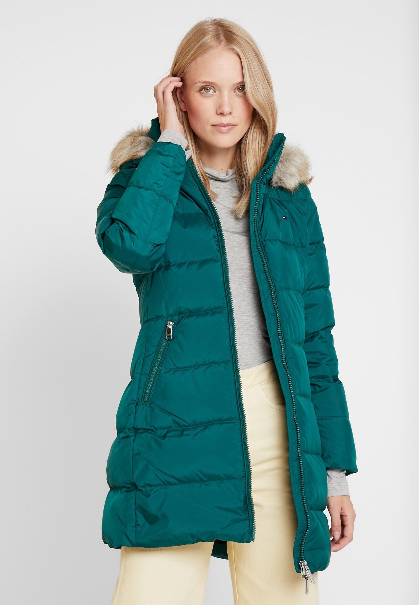 Tommy Hilfiger Essential Hooded Down jacket, groen