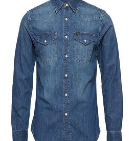 Lee 101 Rider overhemd, blauw