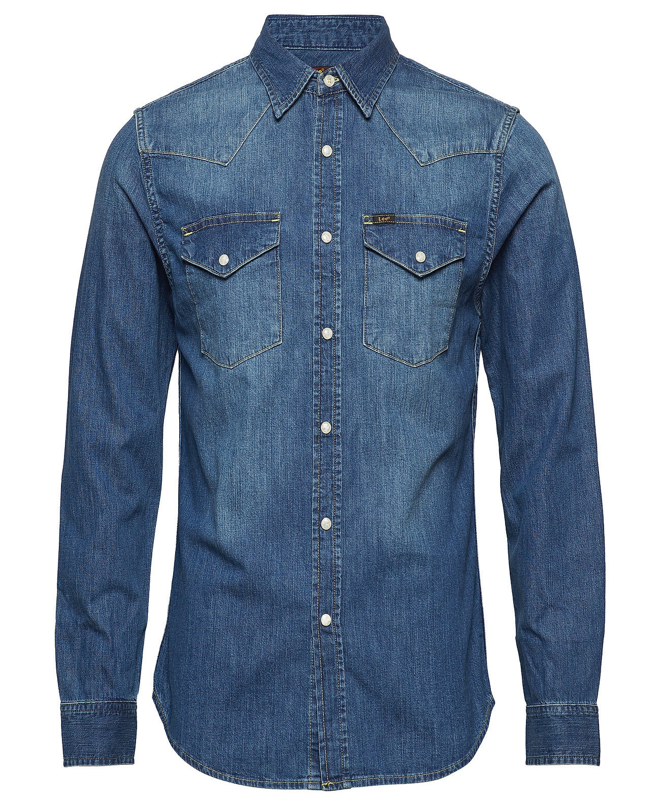 Lee 101 Rider spijkeroverhemd, blauw