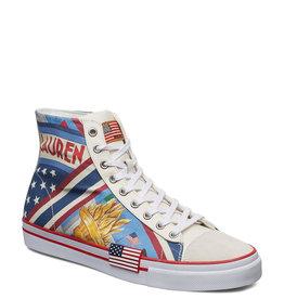 Polo Ralph Lauren Solomon Sneakers, wit