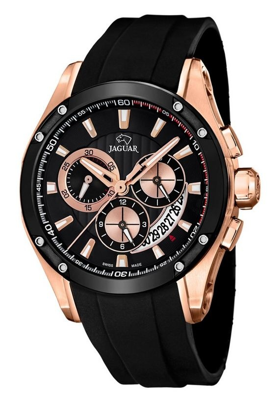 JAGUAR chronograaf Heren Horloge , zwart