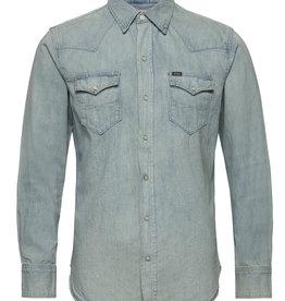 Polo Ralph Lauren Classic Fit overhemd, lichtblauw