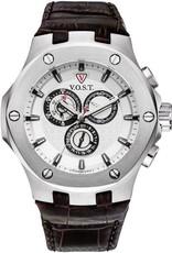 Vost Germany chronograaf horloge, bruin