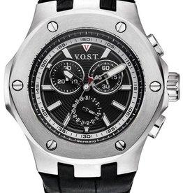 Vost Germany  Horloge, zwart