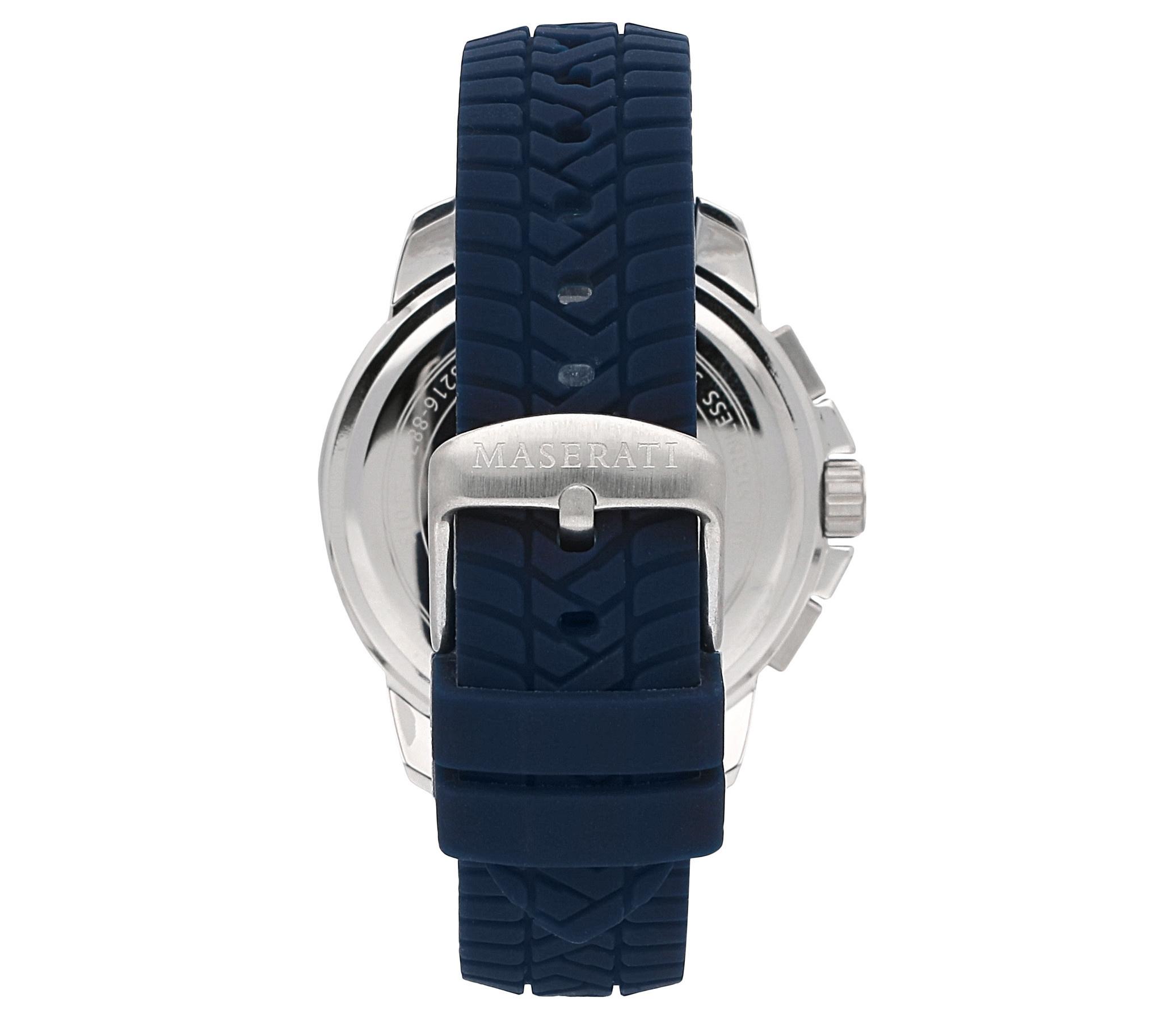 Maserati Sucesso Heren Horloge, blauw