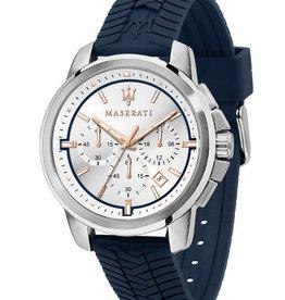 Maserati Sucesso  Horloge, blauw
