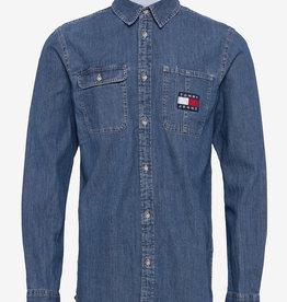 Tommy Hilfiger Denim overhemd, blauw
