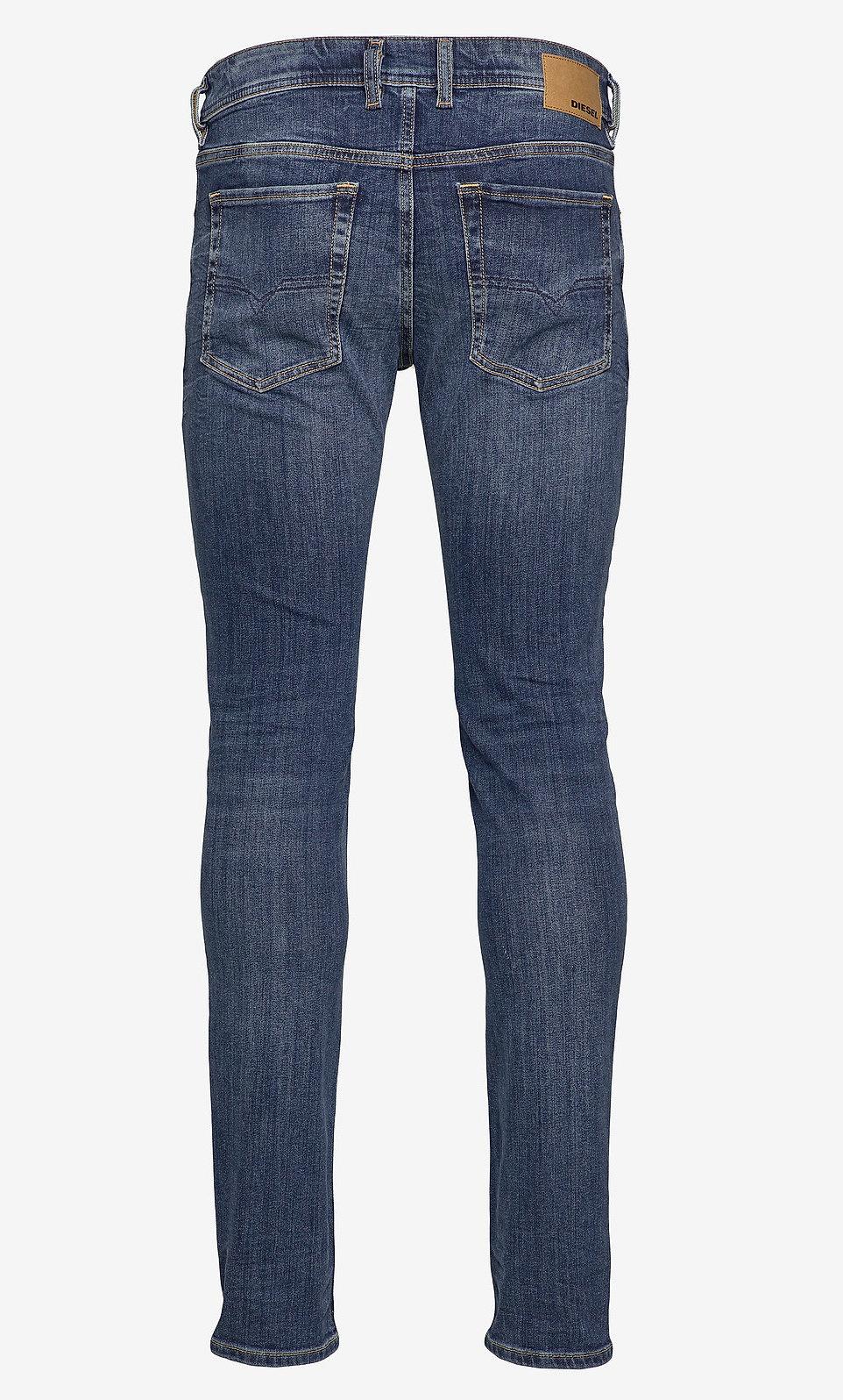Diesel Tavares Slim fit Spijkerjeans, blauw
