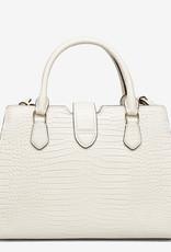 Lauren Ralph Lauren Dames schoudertas, gebroken/wit