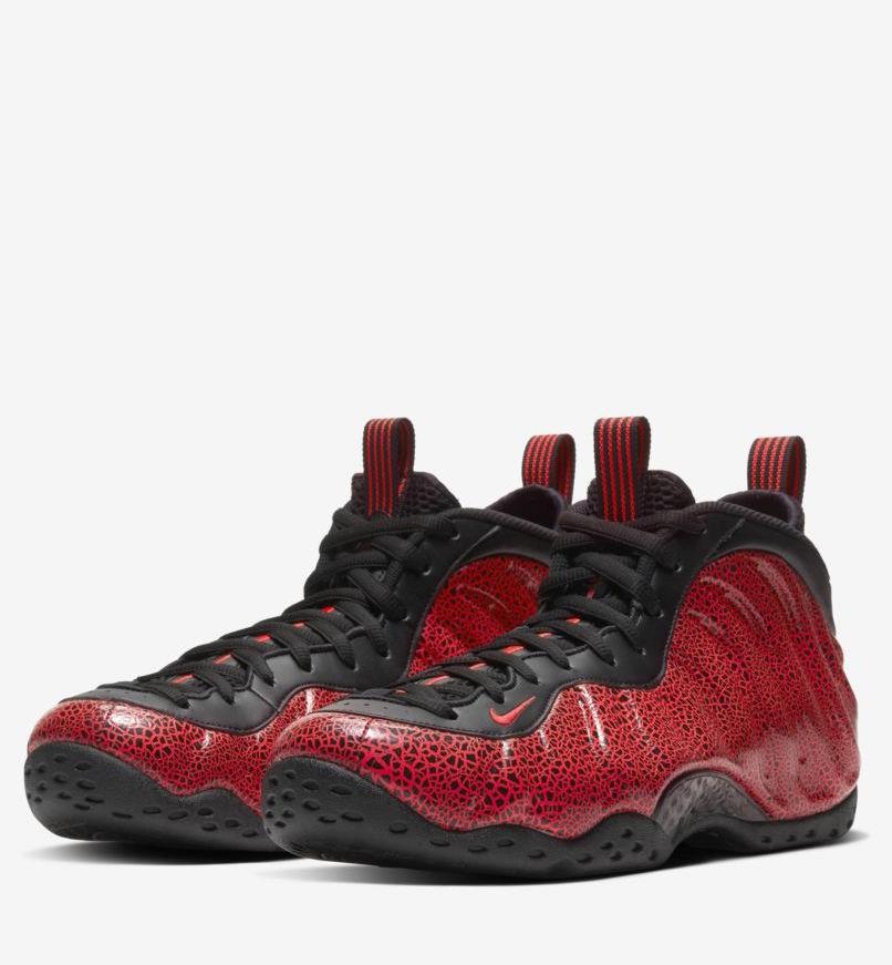 Nike Air  Foamposite  Heren sneakers, rood