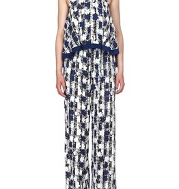 Pepe Jeans Queens Jumpsuit,blauw/wit