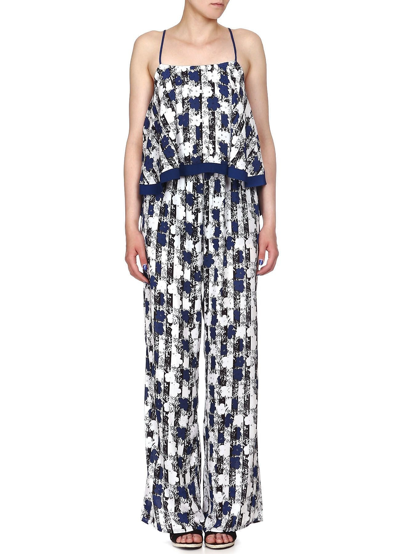 Pepe Jeans by Andy Warhol Jumpsuit,blauw/wit
