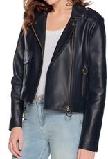 Tommy Hilfiger Premium leren jas, blauw
