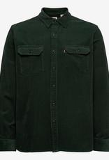 Levi's Regular overhemd, donkergroen