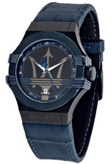 Maserati Fuoriclasse Heren Horloge, blauw