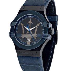 Maserati Fuoriclasse Horloge, blauw
