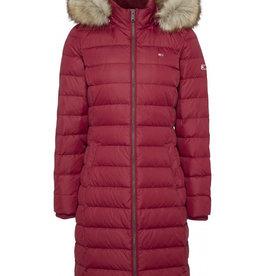Tommy Hilfiger Julia winterjas, rood