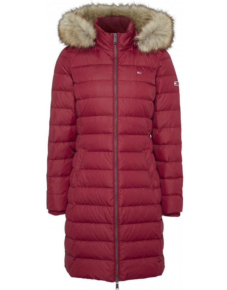 Tommy Hilfiger QUILTED DOWN COAT Winterjas, rood