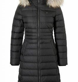 Tommy Hilfiger dons jas, zwart
