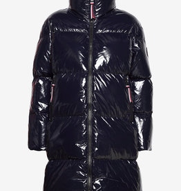 Tommy Hilfiger Gloss Down Pufeer Jacket, blauw