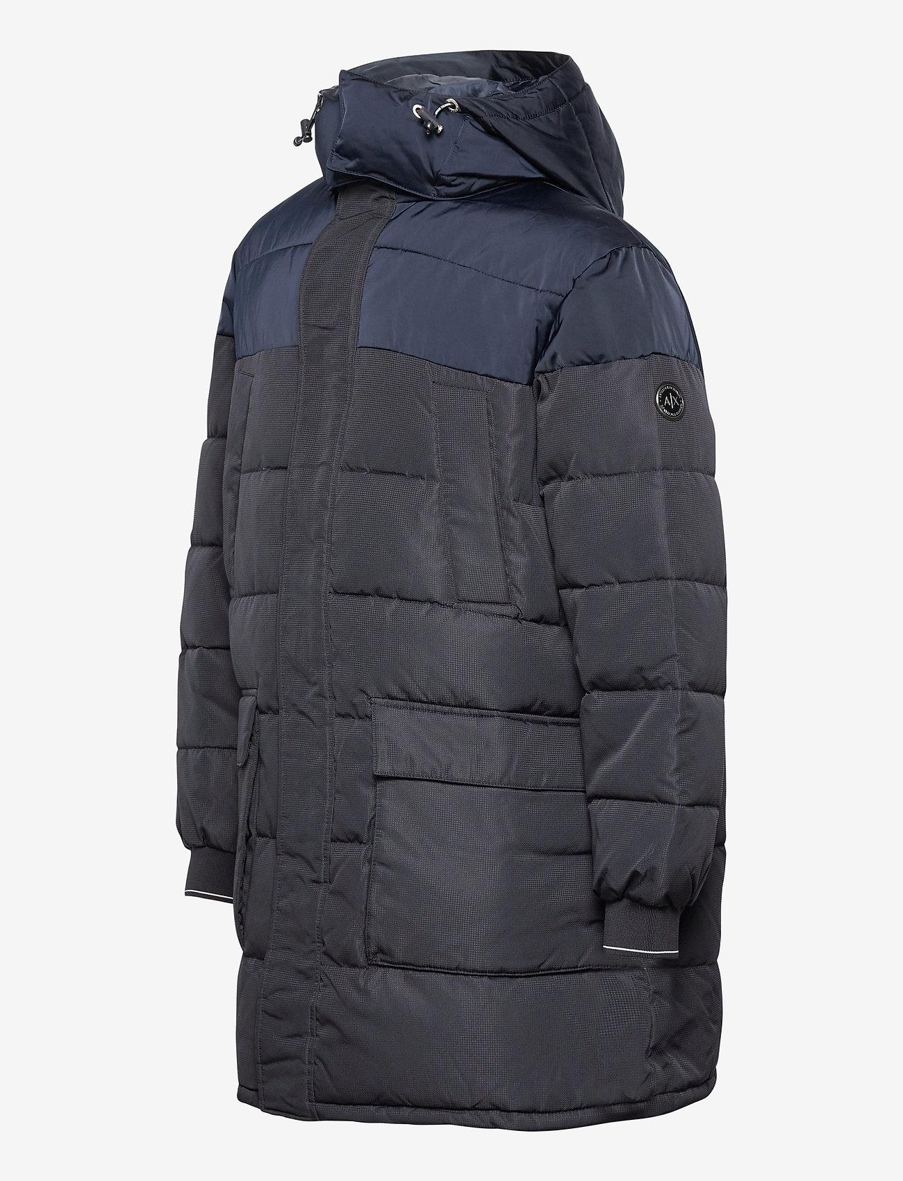 Armani Exchange Winterjas, blauw