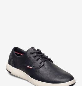 Tommy Hilfiger Leder sneakers, blauw