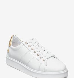 Lauren Ralph Lauren Metallic Sneakers, wit