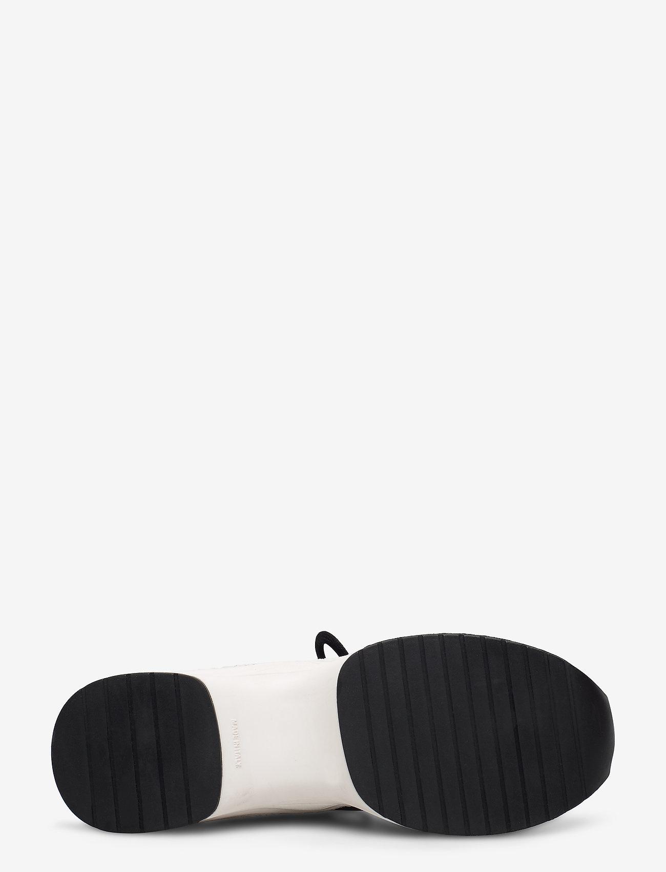 Nude of Scandinavia JOY sneakers, zwart/wit