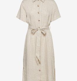 Morris Lady linen jurk, khaki