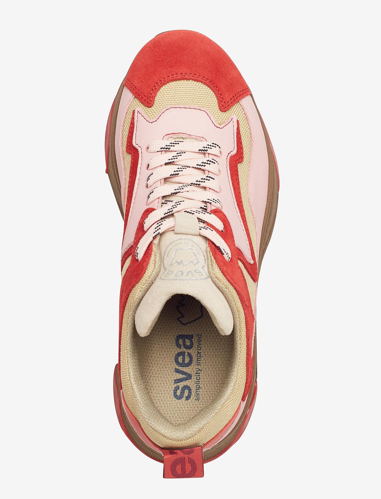 Svea Robyn leder Sneakers, multi