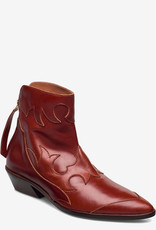 Shoe The Bear Miquita Enkellaarzen, bruin