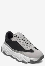 Svea Vintage leder sneakers, grijs