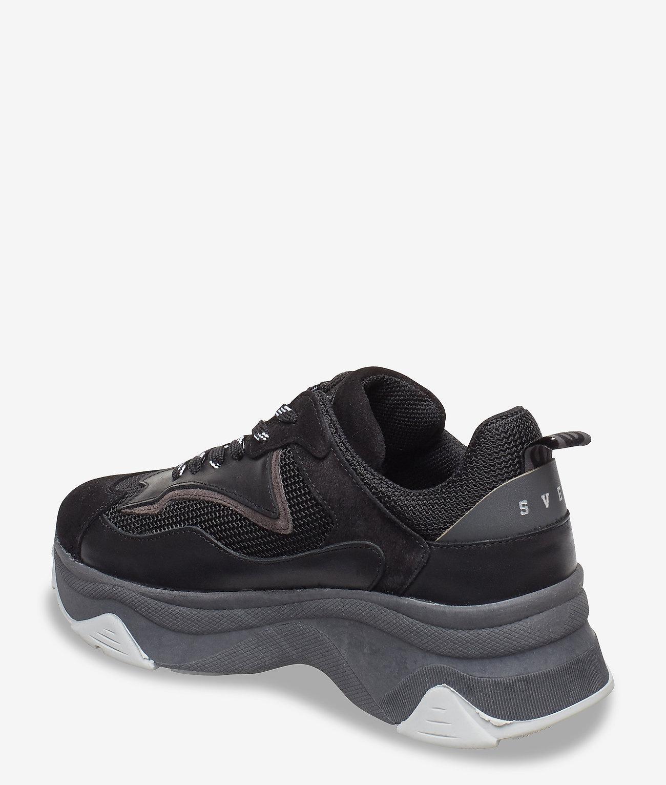 Svea Dames Sneakers, zwart