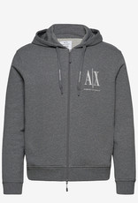 Armani Exchange Heren Sweatvest, grijs