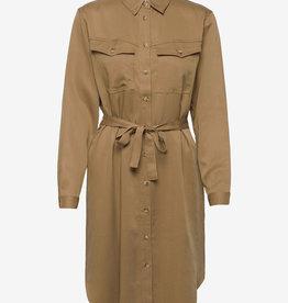 Soft Rebels jurk, bruin