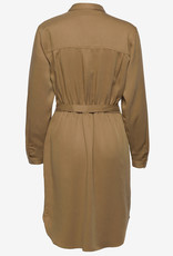 Soft Rebels Dames jurk, bruin