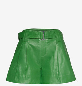 Ganni Wide short,groen