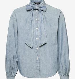 Lauren Ralph Lauren blouse, blauw