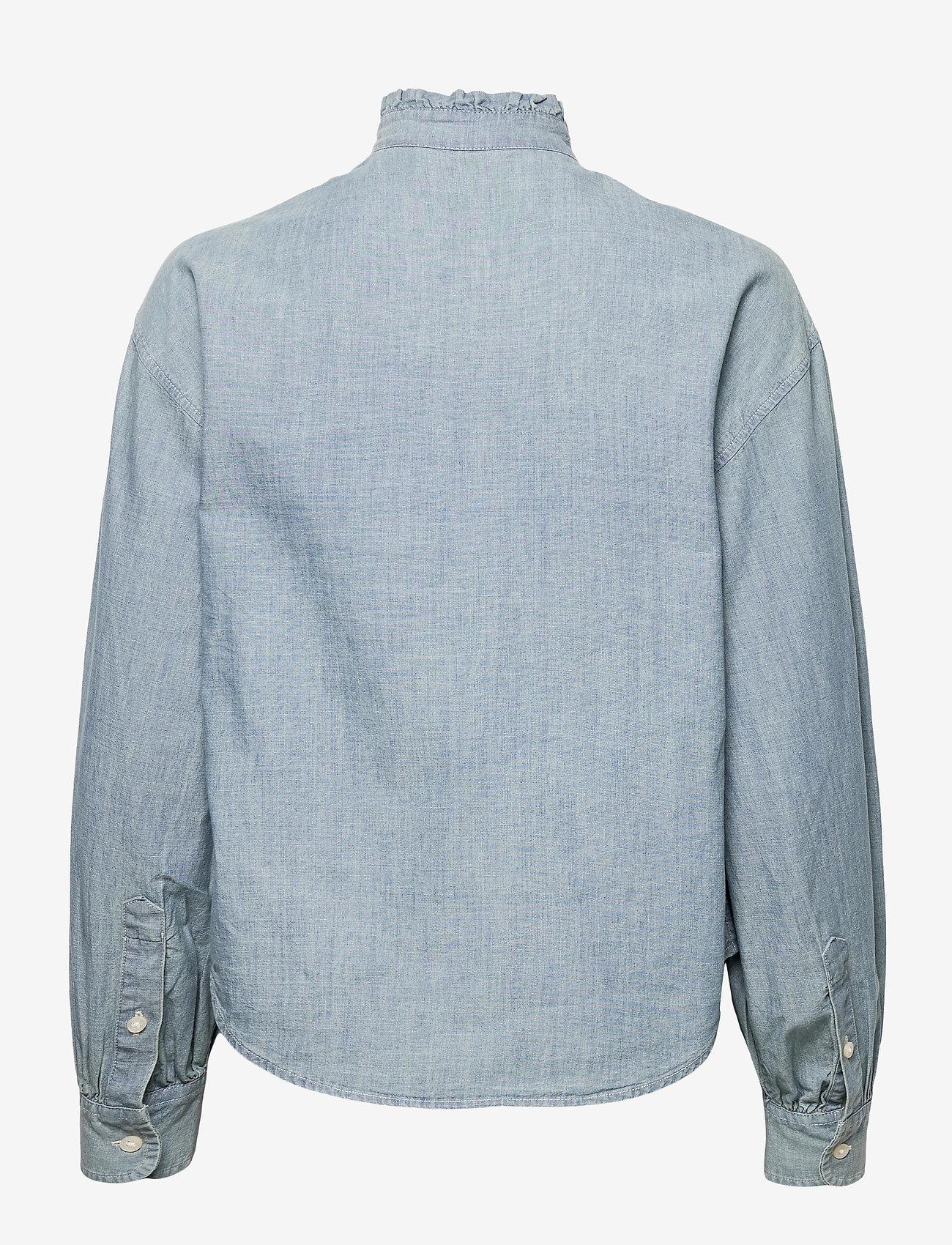 Lauren Ralph Lauren Dames blouse, blauw