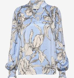 Munthe blouse,  lichtblauw
