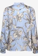 Munthe Dames  blouse, lichtblauw