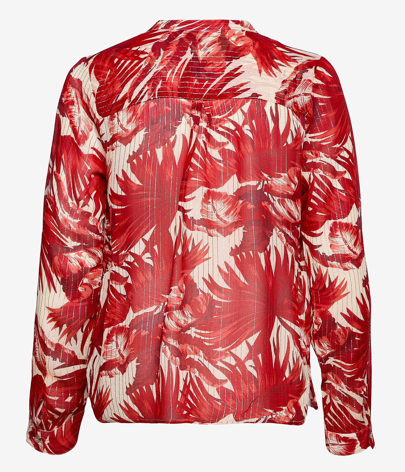 Lollys Laundry Dames blouse, rood