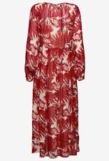 Lollys Laundry bloemetjesjurk, rood