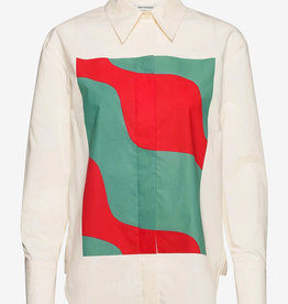 Marimekko blouse, multi