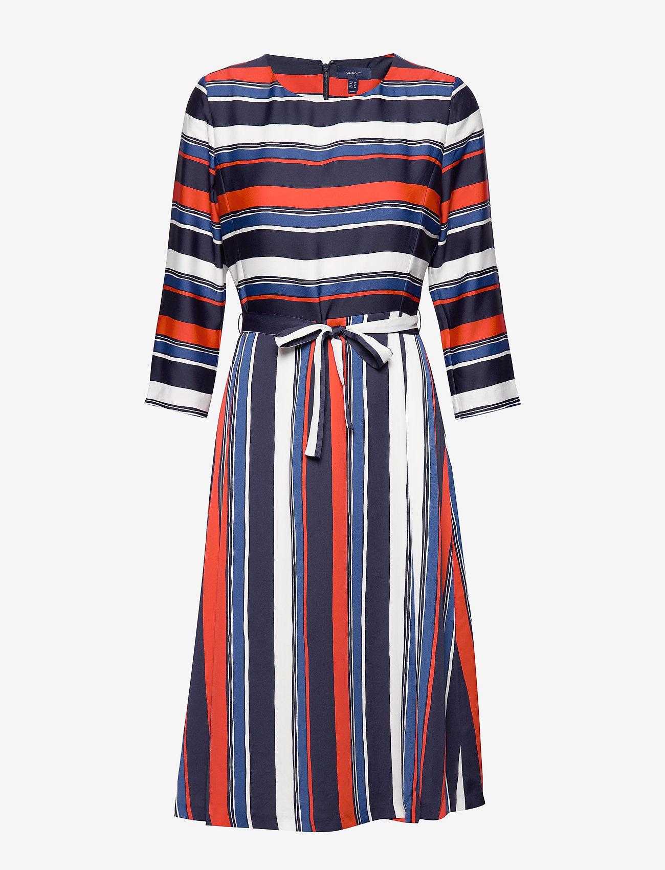GANT  Dames A-lijn jurk, multi
